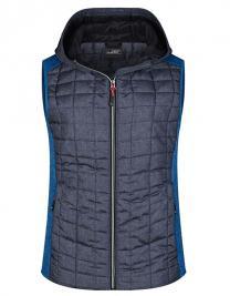 Ladies´ Knitted Hybrid Vest